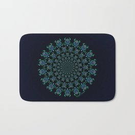 Tribal Turtle Tunnel Bath Mat