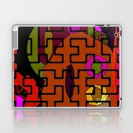 Orange Maze Laptop & iPad Skin