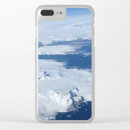 Iceland from Above - Photograph Clear iPhone Case
