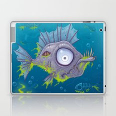 Zombie Fish Laptop & iPad Skin