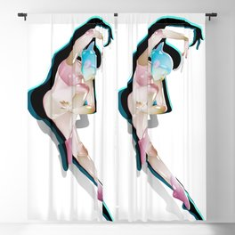 Dance 2 Blackout Curtain