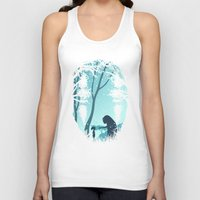 chihiro Tank Tops featuring Lonely Spirit by filiskun