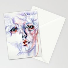 Violated purity Stationery Cards