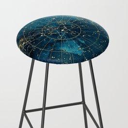 Star Map :: City Lights Bar Stool