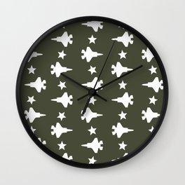 F-35 Lightning II Pattern Wall Clock