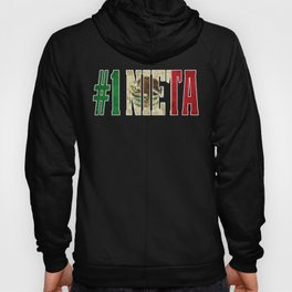 Nieta Gift Mexican Design For Mexican Flag Design for Mexican Pride Vintage Outline Hoody