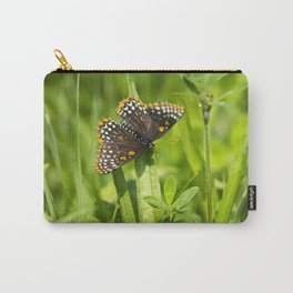 Pretty Butterfly Carry-All Pouch