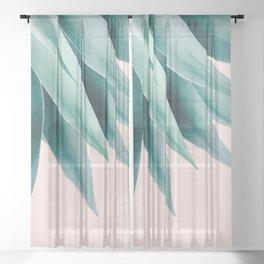 Agave flare Sheer Curtain