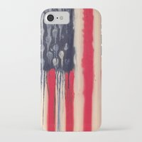 america iPhone & iPod Cases featuring America  by Matt Pecson