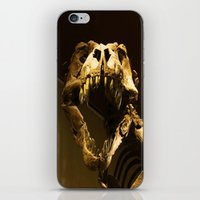 t rex iPhone & iPod Skins featuring T-Rex by Vito Fabrizio Brugnola
