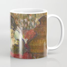 "Henri de Toulouse-Lautrec ""In Bed. The Kiss"" Coffee Mug"