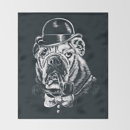 English Gentleman Throw Blanket
