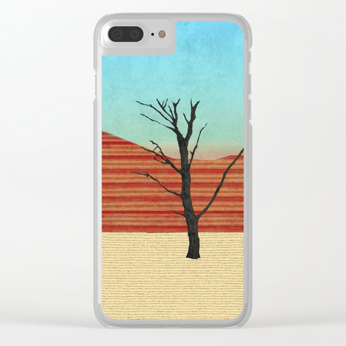 The Desert View Clear iPhone Case