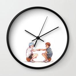 Basketball Boys Wall Clock
