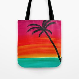 Sunset Palm 2 Tote Bag