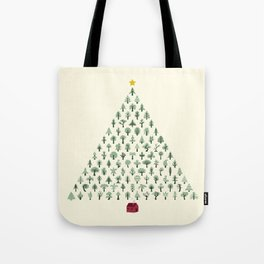 Christmas Treeangle Tote Bag