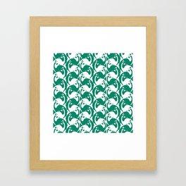 "Koloman (Kolo) Moser ""Textile pattern (Birds)"" (1) Framed Art Print"
