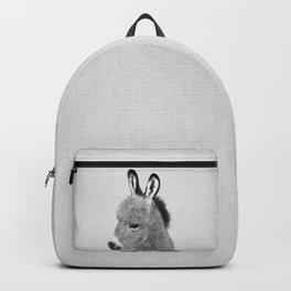 Donkey - Black & White Backpack