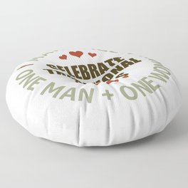 Celebrate Traditional Values Floor Pillow