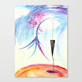 Suspend Canvas Print