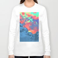 rushmore Long Sleeve T-shirts featuring Mt Rushmore by Cale potts Art