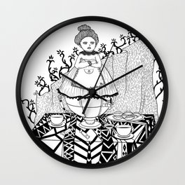 Working hours Wall Clock