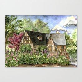 Tudor House Canvas Print