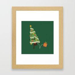 Here's Your Present Framed Art Print