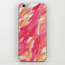Blush Strokes iPhone Skin