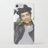 zayn malik iPhone & iPod Cases featuring Zayn Malik by Sierra Ferrell