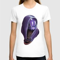 garrus T-shirts featuring Mass Effect: Tali'Zorah vas Normandy by Ruthie Hammerschlag