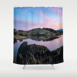 Black Butte Lake - Northern California Shower Curtain