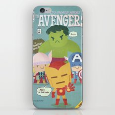 avengers fan art iPhone & iPod Skin