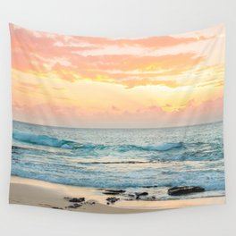 Honolulu Sunrise Wall Tapestry