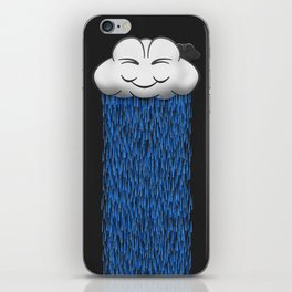 'When it rains, it pours.' iPhone Skin
