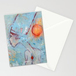 The Lady Of Two Lands Stationery Cards