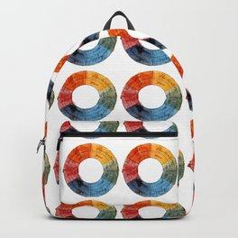 Goethe's Color Wheel (1809) Backpack