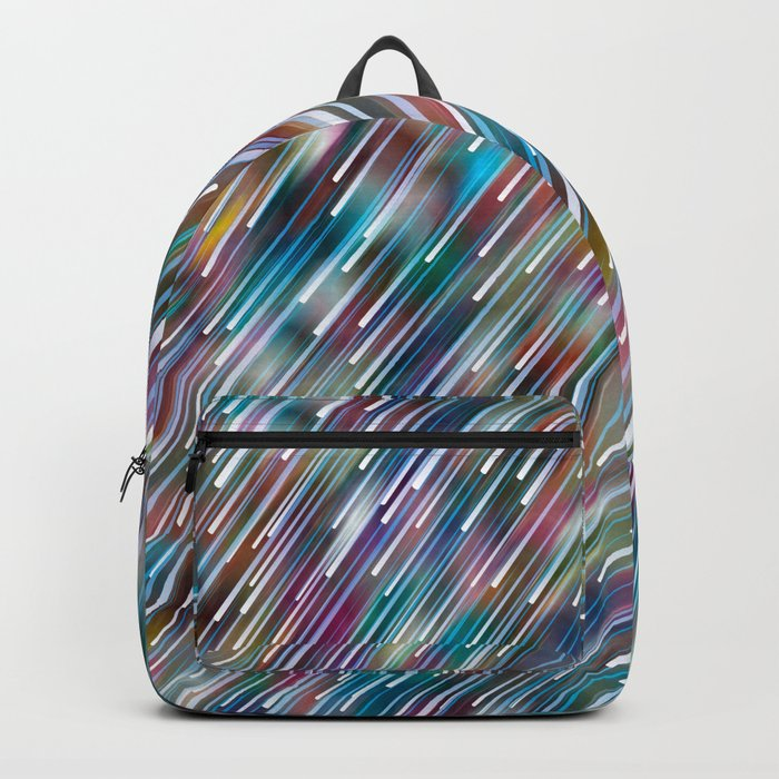 Like Neon Rain Backpack