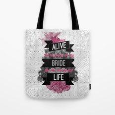 Be My Bride Tote Bag