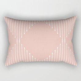 Geo (Blush) Rectangular Pillow