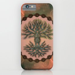 The celtic living tree iPhone Case