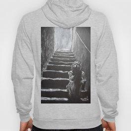 kid on the stairway Hoody