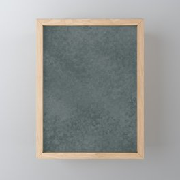PPG Night Watch, Liquid Hues, Abstract Fluid Art Design Framed Mini Art Print
