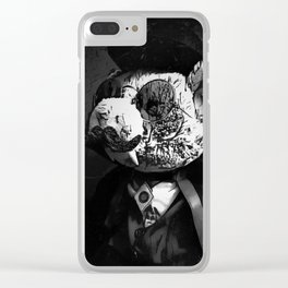 Vampig Clear iPhone Case
