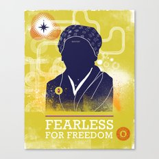 FEARLESS: For Freedom Canvas Print