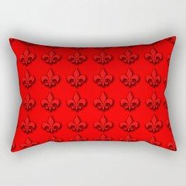 Red Dress Run ...NOLA Rectangular Pillow