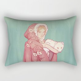 Arctic Lady Rectangular Pillow