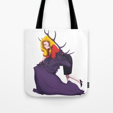 Bedelia and the Raven Stag Tote Bag