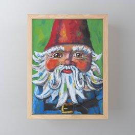 Garden Gnome  Framed Mini Art Print
