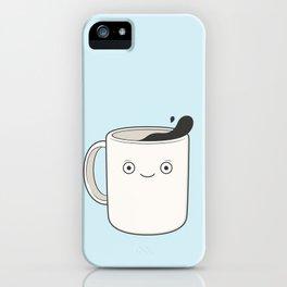 whoa, coffee! iPhone Case